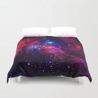 galaxy Duvet Covers featuring Galaxy! by Matt Borchert