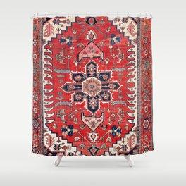 Heriz Azerbaijan Northwest Persian Rug Print Shower Curtain