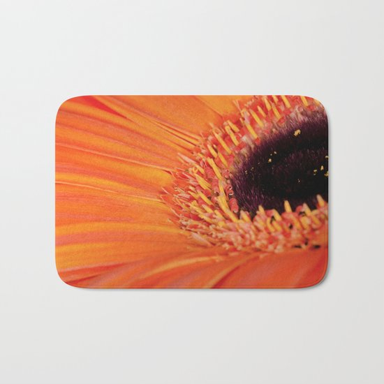 Its bloomin' orange Bath Mat
