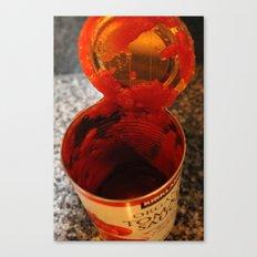 Tomato Can Canvas Print