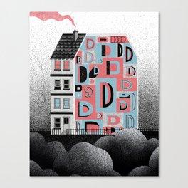 No. 26 Zine - D Canvas Print