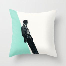 Cool As A Cucumber Throw Pillow
