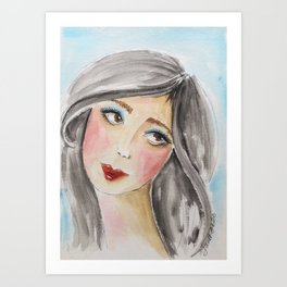 Jillian Art Print