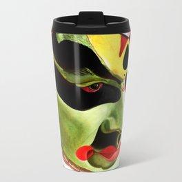 Kathakali Illustration Travel Mug
