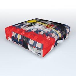 Disk Head 1 Outdoor Floor Cushion