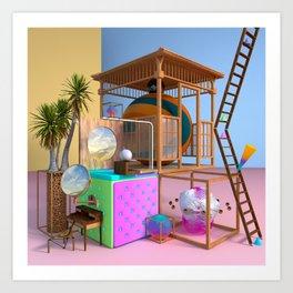Casa 001 Art Print