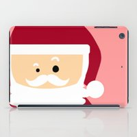 santa iPad Cases featuring Santa by Kimono Hyun