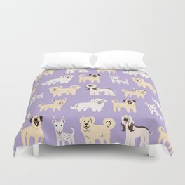 MIDDLE EASTERN DOGS Duvet Cover