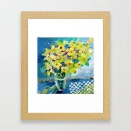 Spring Daffodils Framed Art Print