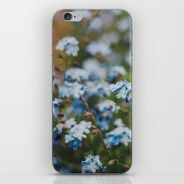 Forget-Me-Not iPhone Skin