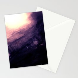 Monolithic - textured rock Stationery Cards