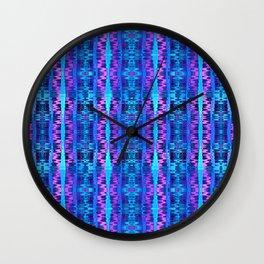 Glitch No. 6 Wall Clock