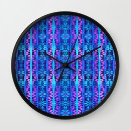 Glitch No. 6 Wall Clock