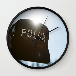 Poler Hat Wall Clock