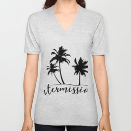 Intermission - On Holiday with Palm Trees Unisex V-Neck