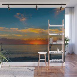 Sunset From Zero Wall Mural