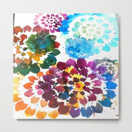 Rainbow botanicals limited edition Metal Print