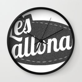 LesBallonais - logo Wall Clock