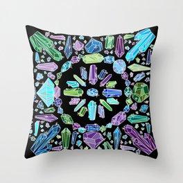 Crystal Bandana Cool Throw Pillow