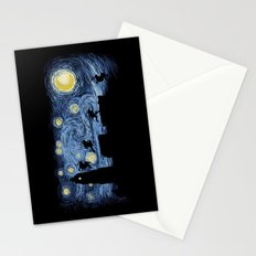 Starry Fight Stationery Cards