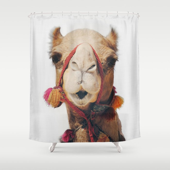 Camel Shower Curtain By Katypie