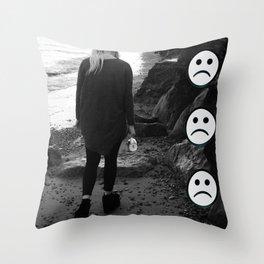 SADGURL Throw Pillow