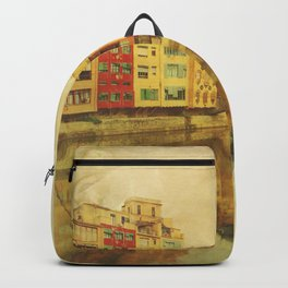 The river that reflects the city Backpack
