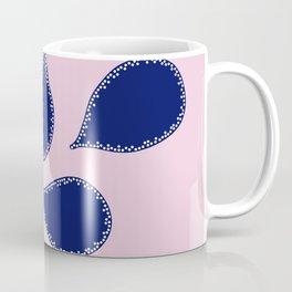 Indigo Petals Coffee Mug