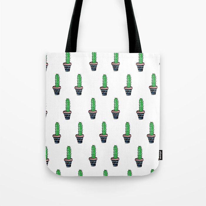 PATTERN II Geometric Cacti Tote Bag