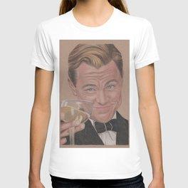 Leonardo Dicaprio as The Great Gatsby T-shirt