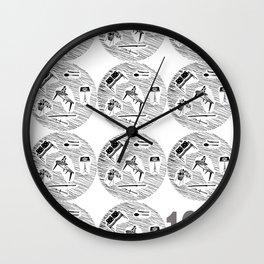 Homemaker Graphic Artwork 1957 Design Classic Poster Print Wall Clock