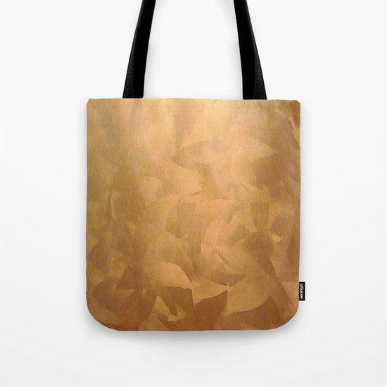 Brushed Copper Metallic - Beautiful - Rustic Glam - Fancy Faux Finishes - Unique Tote Bag