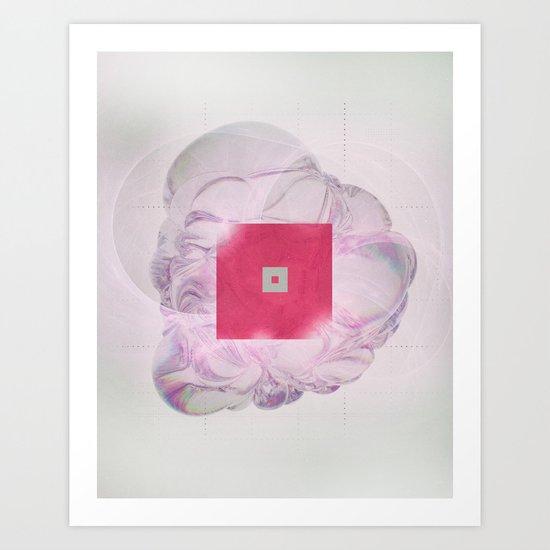 EIGHT-FORTYFIVE (everyday 07.25.16) Art Print
