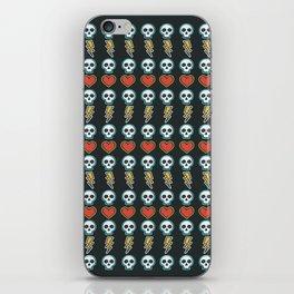 Rock Style Skull Pattern iPhone Skin