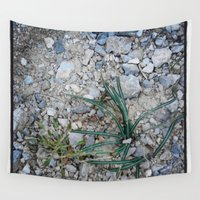plant Wall Tapestries featuring plant by gasponce