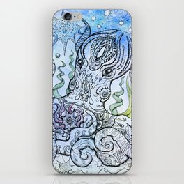 Starry Octopus iPhone Skin