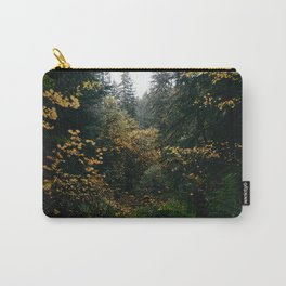 Golden Oregon Forest Carry-All Pouch