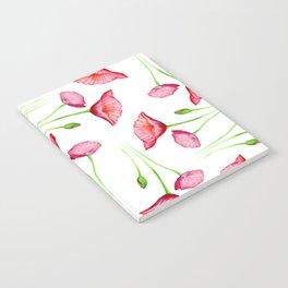 Poppy pattern Notebook
