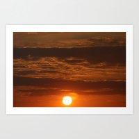 Low Sun Art Print