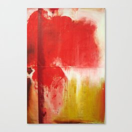 Red Landscape V Canvas Print
