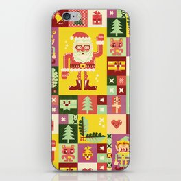 Christmas Geometric Pattern No. 1 iPhone Skin