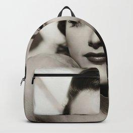 Ava Gardner vintage portrait photo Backpack