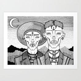 Messengers Art Print