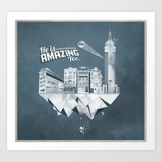 Sick City Art Print