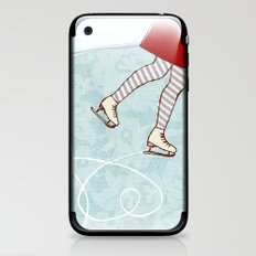 Ice Skating iPhone & iPod Skin