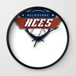 Melbourne Aces Wall Clock