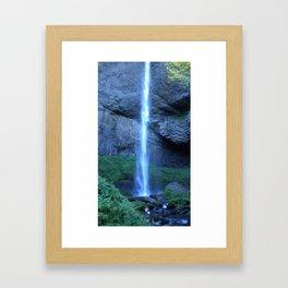 Latourell Falls II Framed Art Print
