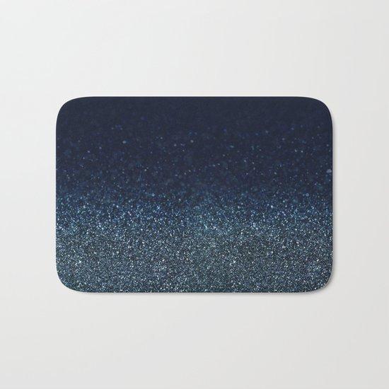 Shiny Glittered Rain Bath Mat