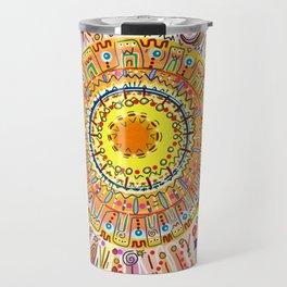 Sun Drawing Travel Mug