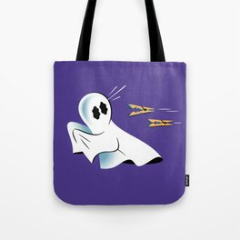 A Fearful Phantom (Purple) Tote Bag